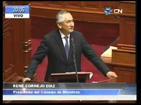 Discurso final del Jefe de Gabinete René Cornejo en el Congreso de la República - 14.03.14