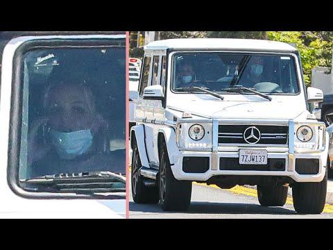Britney Spears Breaks Quarantine For A Drive In The 'Bu