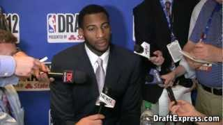 Andre Drummond 2012 NBA Draft Media Day - DraftExpress