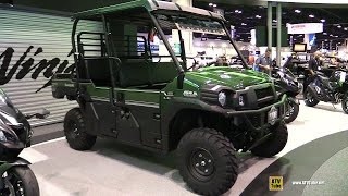 10. 2016 Kawasaki Mule Pro DXT 900 Diesel Utility ATV - Walkaround - 2015 AIMExpo Orlando