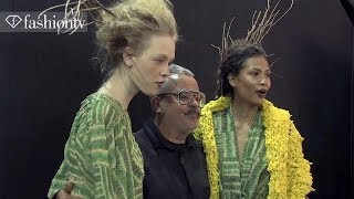 Ronaldo Fraga Winter 2014 BACKSTAGE | Sao Paulo Fashion Week SPFW | FashionTV