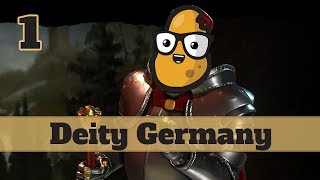 Video Civ 6 Deity Germany Ep. 1 Let's Play - 8 Ages of Pace on YnAMP Terra MP3, 3GP, MP4, WEBM, AVI, FLV Maret 2018