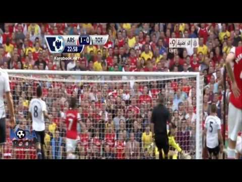 Arsenal vs Tottenham Hotspur 1-0 (All Goals & Highlights) 1/9/13 - 2013 [HD 720p]