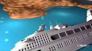 3-DРеконструкция кораблекрушения Коста Конкордия
