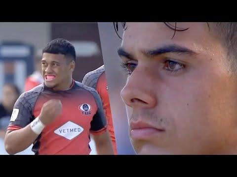 2020 World School Sevens - Final | Rugby Highlights | Tongan Barbarians vs NZ Condors | RugbyPass