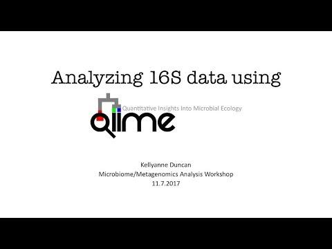 Microbiome/Metagenome Analysis Workshop: QIIME
