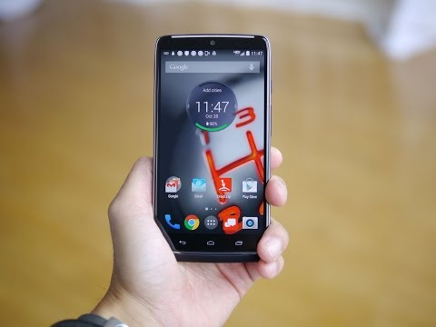 Motorola DROID Turbo handson