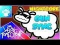 ★ Nightcore ★ ~ Beep Beep Im a Sheep GUN SYNC ~ (The Living Tombstone Remix)