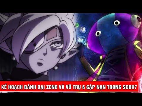Vũ trụ thứ 6 gặp nạn - Kế hoạch đánh bại Zeno trong Super Dragon Ball Heroes tập 7 - Thời lượng: 6 phút, 3 giây.