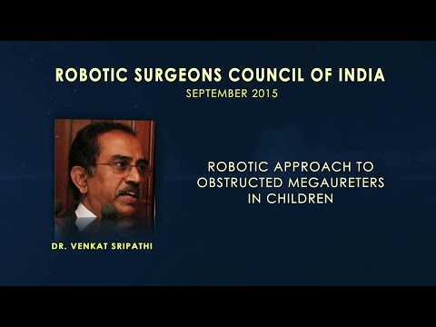 Robotic Approach to Obstructed Megaureters in Children