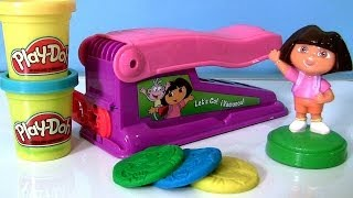 Video Play Doh Dora the Explorer Fun Factory Machine Dough Maker Nickelodeon Fabrica Loca - Le Serpentin MP3, 3GP, MP4, WEBM, AVI, FLV Agustus 2017