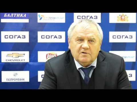Автомобилист - Нефтехимик: Пресс-конференция - Емелин, Крикунов