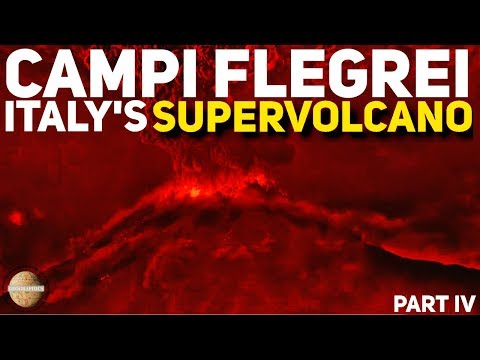 CAMPI FLEGREI: ITALY'S SUPERVOLCANO PT4: ERUPTION SIMULATION IN PRESENT DAY