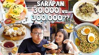 Video Sarapan Rp 30.000 Vs. Rp 300.000 !! Pilih Yang Mana? MP3, 3GP, MP4, WEBM, AVI, FLV Mei 2019