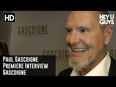 Paul Gascoigne Premiere Interview | Gascoigne Movie