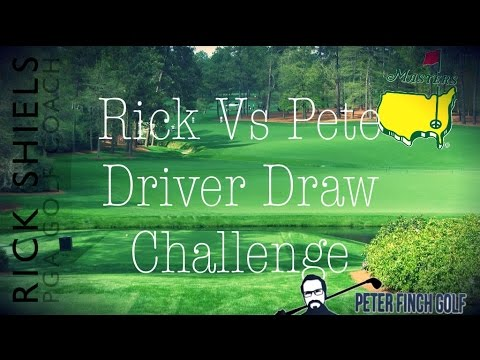RICK VS PETE DRIVER DRAW CHALLENGE