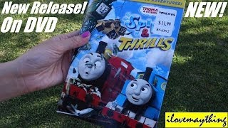 Thomas & Friends Spills & Thrills DVD Unwrapping!