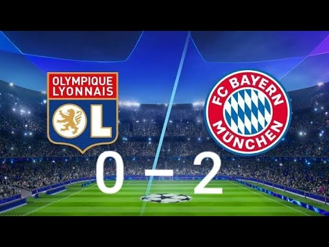 Lyon vs Bayern Munich 0-2 - All Goals and Extended Highlights ( Champions League) - 2020