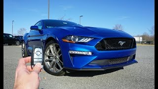 Download Lagu 2018 Ford Mustang GT Premium: Start Up, Exhaust, Test Drive and Review Mp3