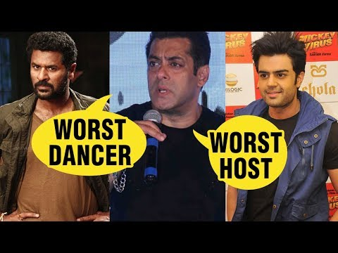 Salman Khan Tags Prabhu Deva As 'Worst Dancer', Ma