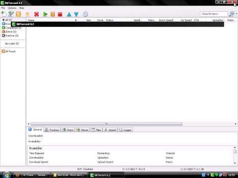 Configurando o BitTorrent