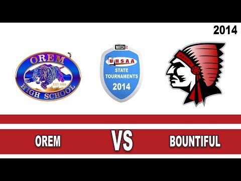 school - 4A Boys Basketball: Orem vs Bountiful Utah High School State Tournament 3/8/14.