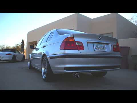1999 BMW E46 328i Straight Piped w/ K&N Intake
