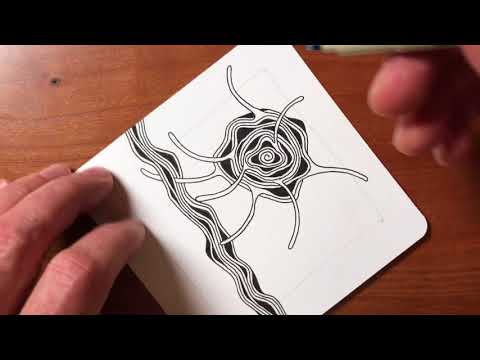 Zentangle® Project Pack #02 -- Day Four