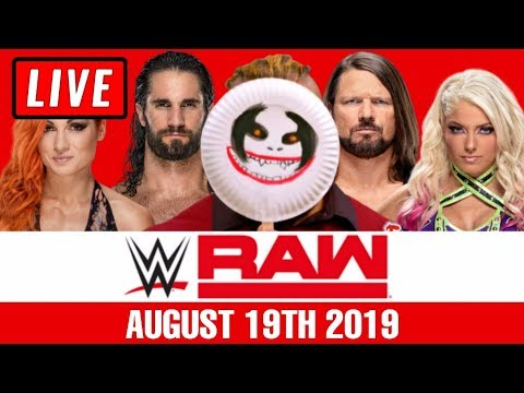 WWE RAW Live Stream August 19th 2019 Watch Along - Full Show Live Reactions