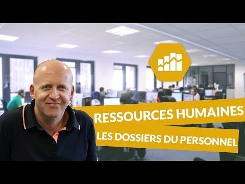 Les dossiers du personnel - Ressources humaines - digiSchool