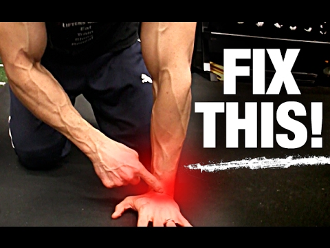How to Fix Wrist Pain   Working Out (6 WAYS!)