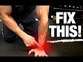 How to Fix Wrist Pain | Working Out (6 WAYS!)