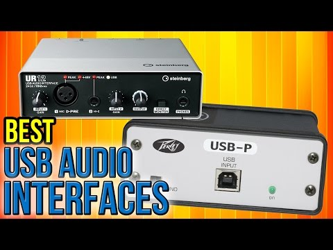 10 Best USB Audio Interfaces 2017