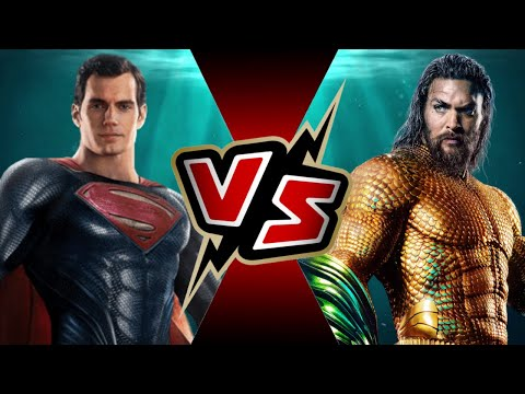 Superman Vs Aquaman (under The Water) | Battle Arena