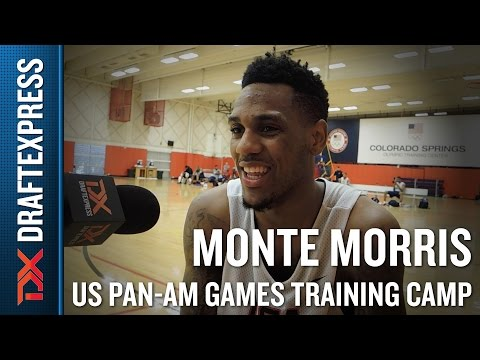 Monte Morris 2015 US Pan-Am Games Training Camp Interview