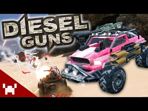 PURE DERP CAR MAYHEM | Diesel Guns w/ Ze, Chilled, GaLm, & Smarty (видео)