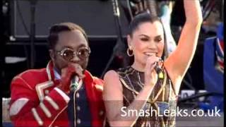 Will.I.Am & Jessie J Jubilee Concert Performance