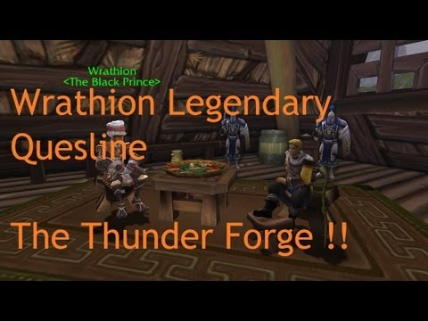 Wrathion Legendary Questline: The Thunder Forge !! - Patch 5.2 LIVE !!