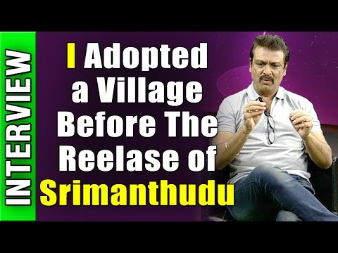 I-Adopted-a-Village-Before-The-Reelase-of-Srimanthudu-Actor-Naresh-Exclusive-interview-NTV-08-03-2016