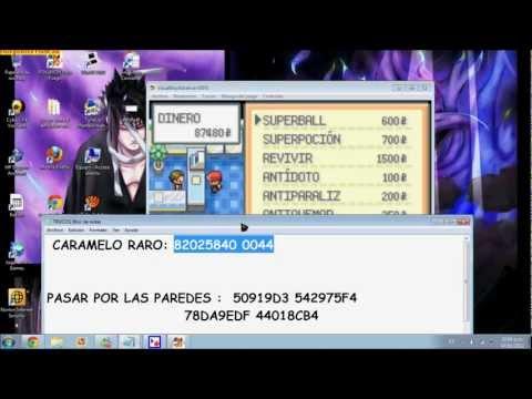 pokemon rojo fuego cheats gba android