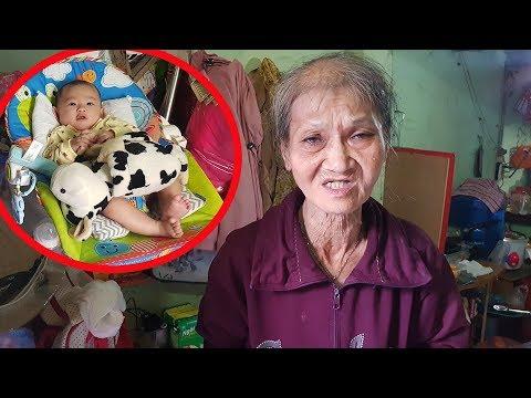 Bà cố ôm chắt 3 tháng tuổi bán vé số mưu sinh ở Sài Gòn - Thời lượng: 14 phút.