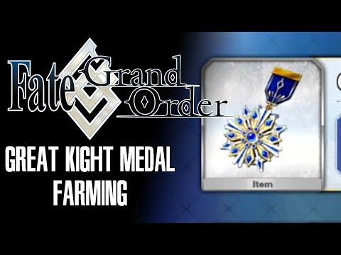 [FGO] Great Knight Medal Farming