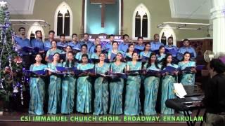 Ernakulam India  City pictures : CSI Immanuel Church Choir ,Ernakulam, India Singing Sura Nadhan (recorded live)