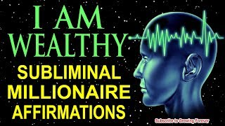 Powerful MILLIONAIRE Affirmations While You SLEEP! Program Your Mind Power For WEALTH & ABUNDANCE!