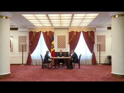 Igor Dodon, Zinaida Greceanîi și Ion Chicu au participat la ședința săptămânală