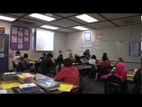 studies - In this video, a 6th grade teacher focuses on close reading of a text in her social studies instruction.