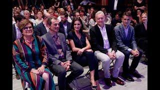S.M. la Reina asiste a la final del certamen de monólogos científicos Famelab España 2019