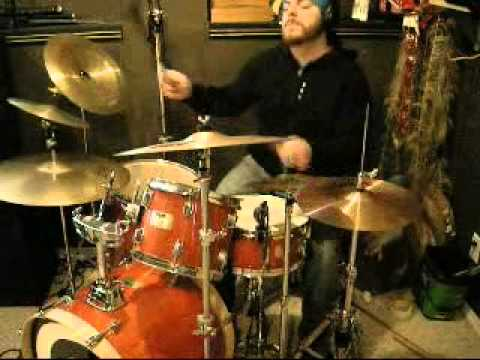 Recording Drums to a new tune. Primer (a step by step song about painting motorcycles)