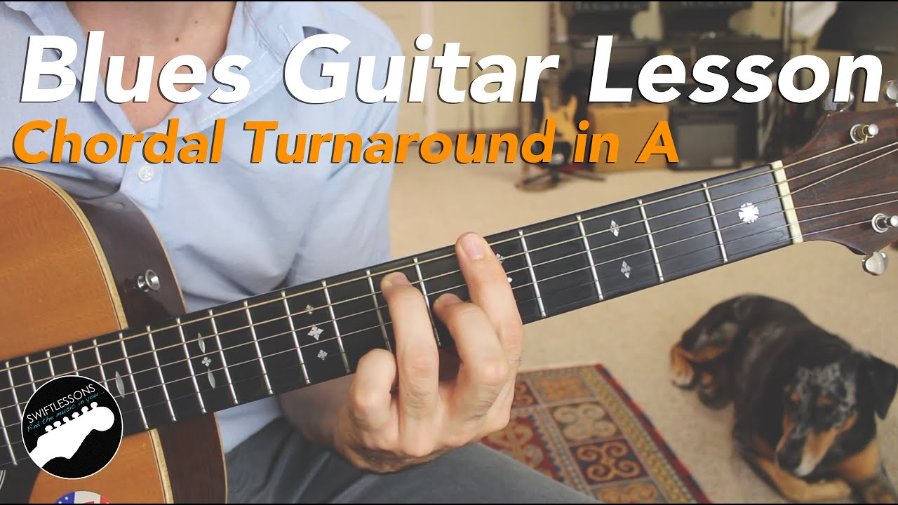 Sweet Blues Guitar Turnaround – Jazzy Acoustic Blues Lesson