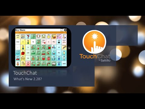 Thumbnail image for video titled 'TouchChat: What's New 2.28'